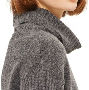 TOPSHOP Oversize Funnel Neck Sweater